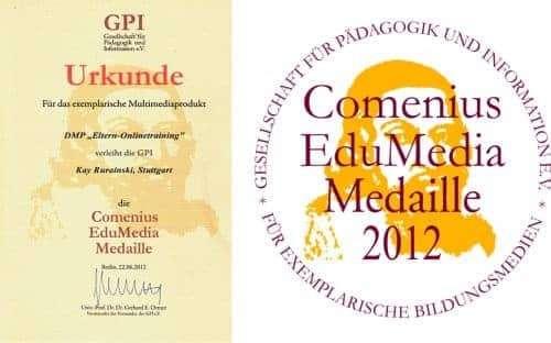 Comenius EduMedia Medaille 2012