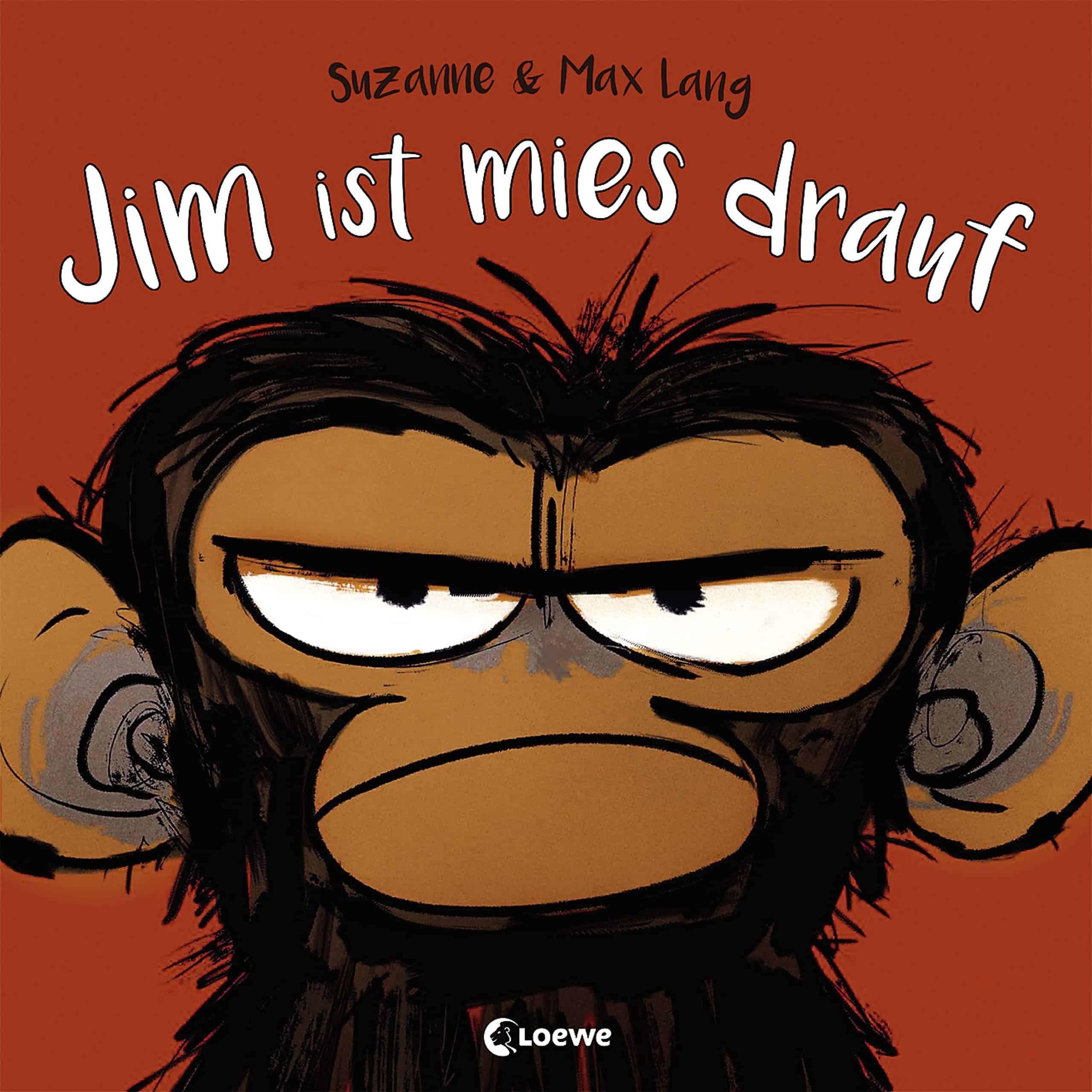 Jim ist mies drauf: Bilderbuch über Gefühle und schlechte Laune für Kinder ab 4 Jahre